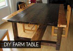 diy farm table from reclaimed lumber, diy, how to, painted furniture, repurposing upcycling, woodworking projects, This is our finished table without the wings attached It seats 6 8 people without the wings and 10 12 with them It s a bit of a bear of a table