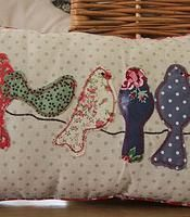 Such a cute scatter cushion! itsybitsygifts