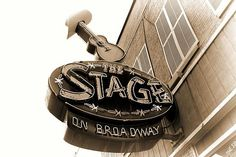 The Stage On Broadway Nashville Tennessee