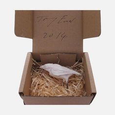 "Tracey Emin ""Small Bird Sculpture"""