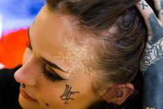 Monami Frost, Tattooed babes, tattoos, tattooed models, monami, Monami Frost snow tattoo