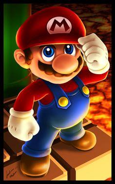 Mario Coming For Ya by on DeviantArt Super Mario Art, Super Mario World, Classic Cartoon Characters, Classic Cartoons, Game Wallpaper Iphone, Cartoon Wallpaper, Cartoon Drawings, Cartoon Art, Mario E Luigi