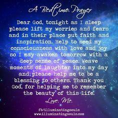 A nighttime prayer something I need to say every night Prayer Verses, Bible Prayers, Faith Prayer, My Prayer, Prayer Board, Angel Prayers, Jesus Prayer, Robert Kiyosaki, Napoleon Hill