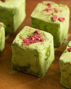 *Matcha Truffles along with other matcha recipes