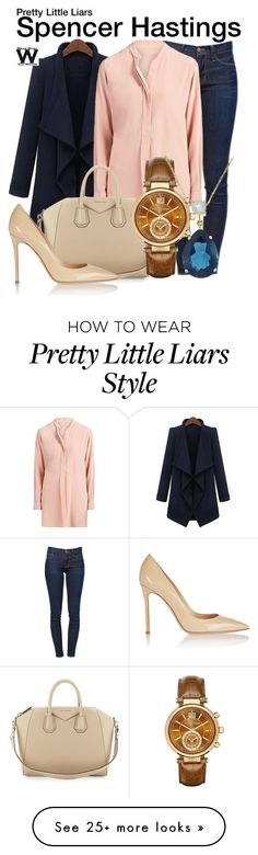 """""""Pretty Little Liars"""" by wearwhatyouwatch on Polyvore featuring Frame Denim, Joseph, Givenchy, Gianvito Rossi, Michael Kors, Beverly Hills Charm, women's clothing, women's fashion, women and female"""