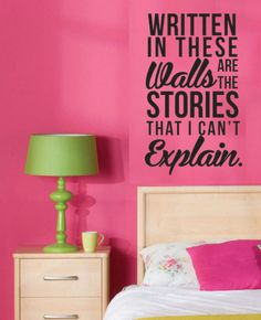 XL 1D One Direction Story of My Life Written In by DazzlingDecals, $45.00