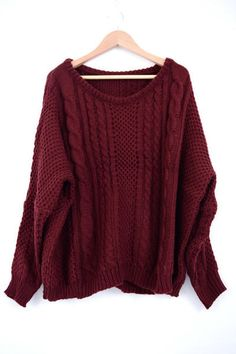 Check out Hannah Kantor-ONeils ESCAPE: MAROON SWEATER. Decalz @Lockerz