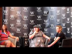 Cassandra Clare, Jamie Campbell Bower and Sarah Rees Brennan Q PART TWO 04/07/13