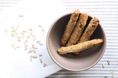 Υγιεινά κριτσίνια βρώμης: Το τέλειο σνακ! Cinnamon Sticks, Sausage, Spices, Meat, Food, Instagram, Spice, Sausages, Essen