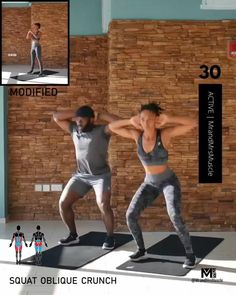Workout Cardio, Full Body Hiit Workout, Gym Workout Videos, Fitness Workout For Women, Fitness Workouts, Body Fitness, At Home Workouts, Fitness Motivation, Fitness Diet