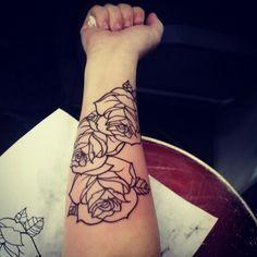 forearm half sleeve tattoo women - Google Search: