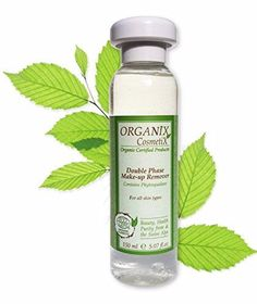 The Double Phase Make-Up Remover is based on organic Aloe Vera and natural Squalane, and provides immediate toning and refreshing effects as well as long term moisturizing.