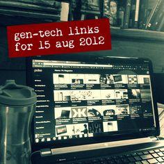 Genealogy technology links for 15 Aug 2012