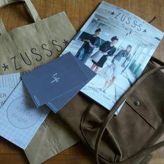 Kaarten, tas M en de nieuwe catalogus van Zusss! Joehoe!!