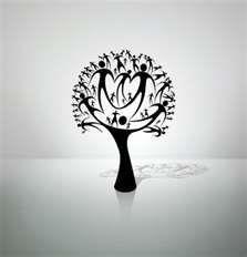 cool tattoo idea for family tree