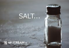 Click to read today's #thruthebible reading: You are the salt of the earth 19 Upstream Christian T-shirts.jpg