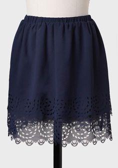 Dolores Park Laser Cut Skirt at #Ruche @Ruche