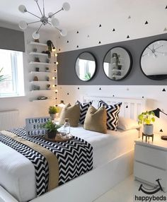bedroom decor for small rooms & bedroom decor . bedroom decor for couples . bedroom decor ideas for women . bedroom decor for small rooms . bedroom decor ideas for couples Girl Bedroom Designs, Room Ideas Bedroom, Small Room Bedroom, Home Bedroom, Diy Bedroom Decor, Master Bedrooms, Home Decor, 1920s Bedroom, Bedroom Girls