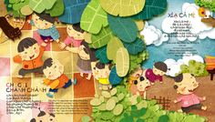 VIETNAMESE CHILDREN on Illustration Served