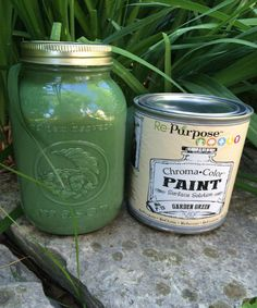 Garden Green Re-Purpose PaintQuart size, water based