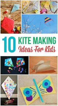 10 Fun & Easy Kite Making Ideas For Kids