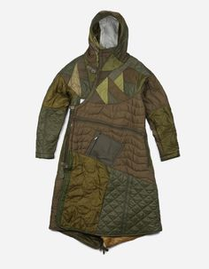9101 QUILTED TRI BORDER PARKA