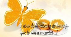 5 usos de la cáscara de naranja que te van a encantar