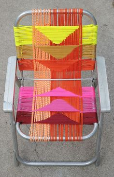 Woven Chair DIY #abeautifulmess