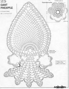 Tischläufer Filethäkeln  ;O) - filet crochet tablerunner ...