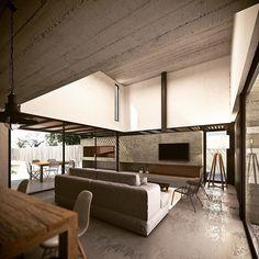 """5 Me gusta, 1 comentarios - TATÚ (@tatuarq_) en Instagram: """"Olivos A16. #proyecto #enobra #enconstrucción #tatuarquitectura #arquitectura #architecture…"""""""