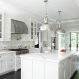 room: Kitchen, Traditional room by Christine Donner Kitchen Design Inc. Light fixture!!!