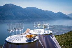 """Living up their motto """"Best of Castello"""" the hotel Castello del Sole offers a noontime excursion to the hotel-owned Rustico. Hotels, Heaven On Earth, Hospitality, Switzerland, Table Settings, Table Decorations, Places, Europe, Beautiful Places"""