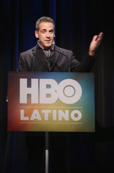 "Actor Carlos Ponce hosts the HBO Latino NYC Premiere of ""Santana: De Corazon"" (Photo by Jerritt Clark/Getty Images for HBO Latino)"