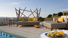Outdoor gartenmöbel Sofa Sessel balkon rattan gartenmöbel