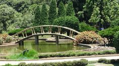 Formal garden to the royal pagodas, Doi Inthanon. Garden Bridge, Outdoor Structures, Formal, Preppy
