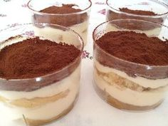 Glasses of Tiramisu without egg cake pops cake cake desserts desserts dulces en vaso faciles gourmet navidad Tiramisu Dessert, Mini Desserts, Dessert Recipes, Oreo Desserts, Canned Blueberries, Vegan Scones, Gluten Free Flour Mix, Scones Ingredients, Blueberry Scones