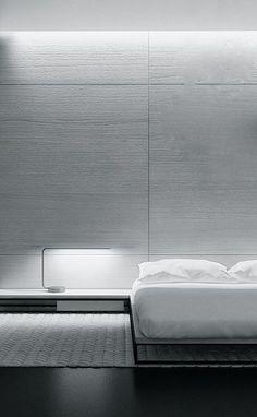 Sleek modern bedroom - View 2: