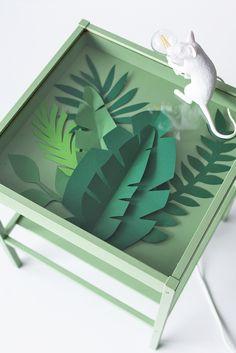 DIY Projekt: Beistelltisch lackieren mit ADLER VariColor | Pinterest: Natalia Escaño