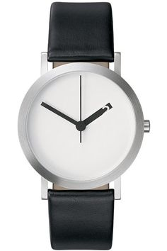 Extra Normal Grande White Face / Normal Timepieces By Ross McBride Amazing Watches, Cool Watches, Watches For Men, Simple Watches, Black Watches, Women's Watches, Hand Silhouette, G 1, Modern Watches