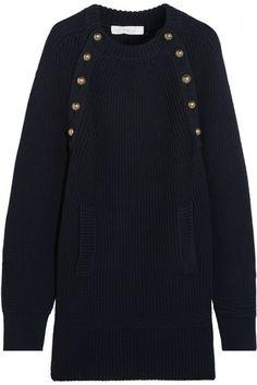 Chloé   Pulloverkleid aus Wolle im Oversized-Look   NET-A-PORTER.COM