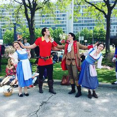 "890 Likes, 25 Comments - Aileen (@alittleandroid) on Instagram: ""So this happened. Gaston found himself and finally wants someone more than Belle.…"""