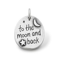 """To the Moon and Back"" Charm at James Avery $49"