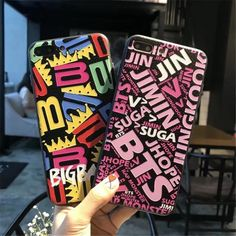 BigBang & BTS Band Logo iPhone Case Collection