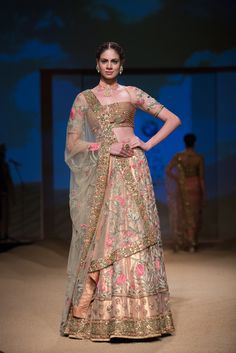 Lengha by Ashima-Leena at India Bridal Fashion Week 2014