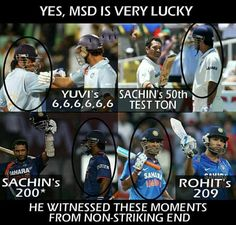 MS Dhoni is very lucky they said well no their's lucky cham is Ms dhoni Dhoni Quotes, Ms Dhoni Photos, Ms Dhoni Wallpapers, Cricket Coaching, Cricket Quotes, Cricket Wallpapers, Latest Cricket News, Chennai Super Kings, Cricket Score
