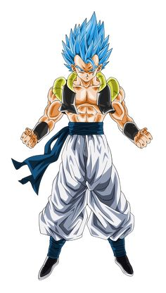 Super Saiyan Blue Gogeta by on DeviantArt Dragon Ball Super Manga, Dbz, Dragon, Super Saiyan Blue, Gogeta And Vegito, Goku