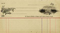 fish invoice, vintage invoice, old invoice digital, vintage receipt, printable ephemera free