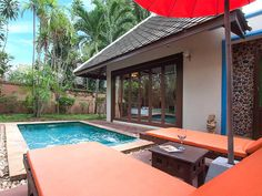 Simple yet welcoming and done in warm tones, this is the place to get a time-out from your over-connected busy life. Spend entire days lounging around the villa's private Large Holiday Homes, Koh Samui, Busy Life, Time Out, Villa, Lounge, Warm, Vacation, Simple