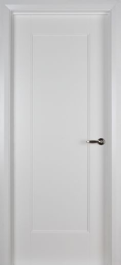 Shaker 1 Panel White Primed Door (40mm) | Internal Doors | White Internal Doors