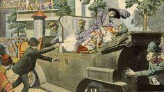 Luiz Roberto Benatti  Gavrilo Princip, saltou de uma página de Dostoiévski para Saravejo Em 28 de junho de 1914, um mês antes da eclosão da Grande guerra, o arquiduque Francisco Ferdinand…
